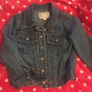 Size 4 Girls classic denim jacket